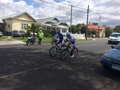 Cadel Evans road race - church st