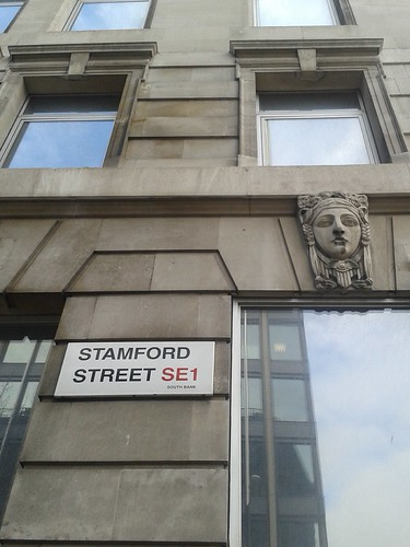 Faces on Stamford Street