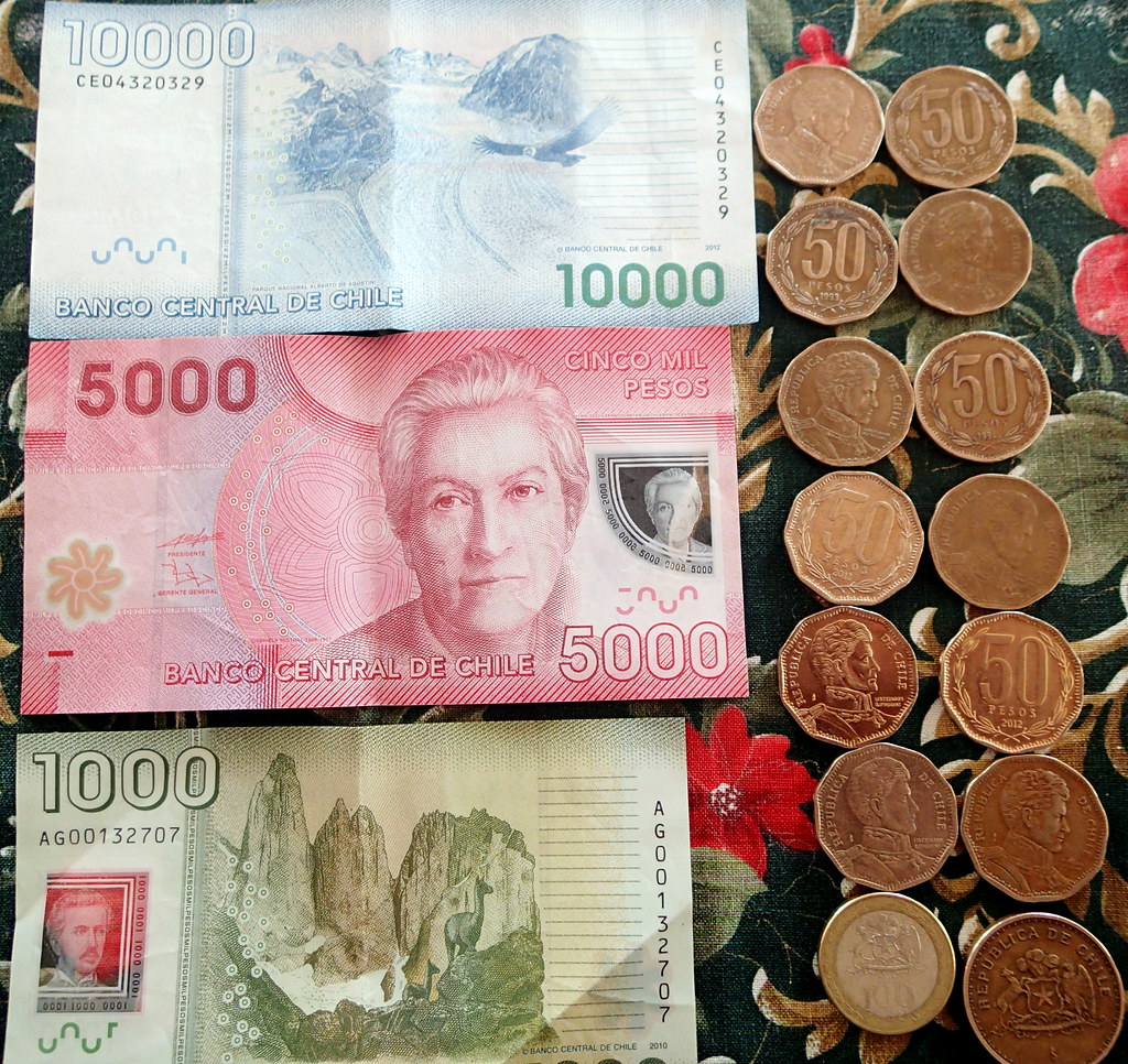 Chilean Pesos, Chile, South America