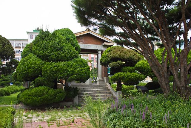 Porch of Henderson Main Hall, Jeonju, South Korea