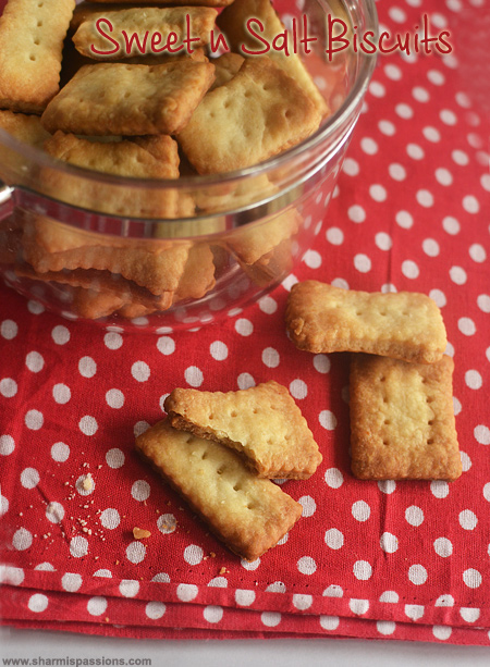 Sweet and Salt Biscuits