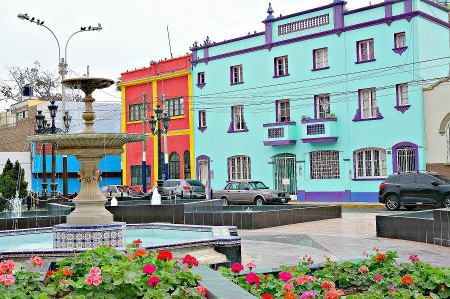 Colorful Barranco