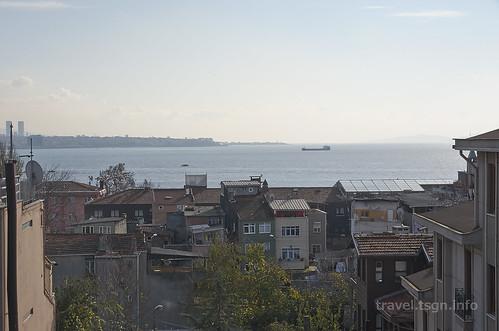 【写真】東欧周遊 : マルマラ海(旧市街地より)