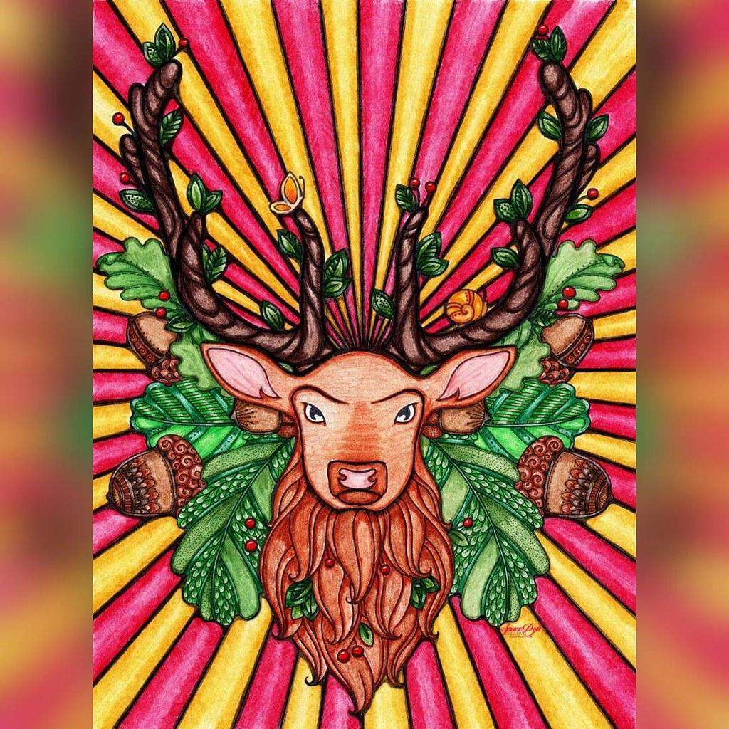 Coloriage Anti Stress Magazine.Coloriage Crayonsdecouleur Coloredpencils Carandache