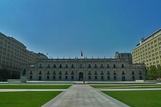 Santiago - Palacio La Moneda