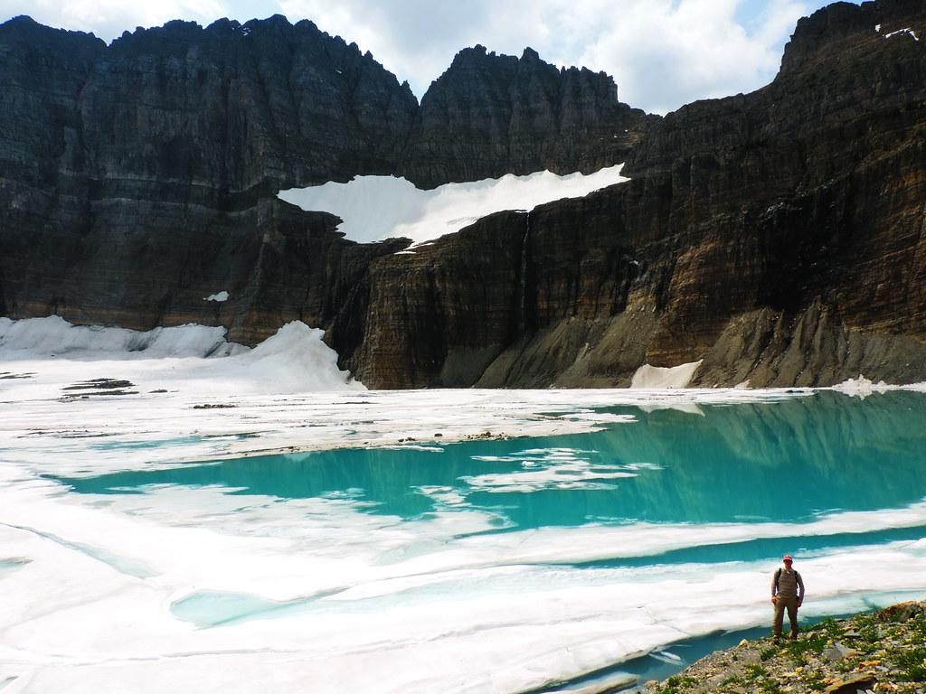 Grinnell Glacier, Glacier National Park, Montana