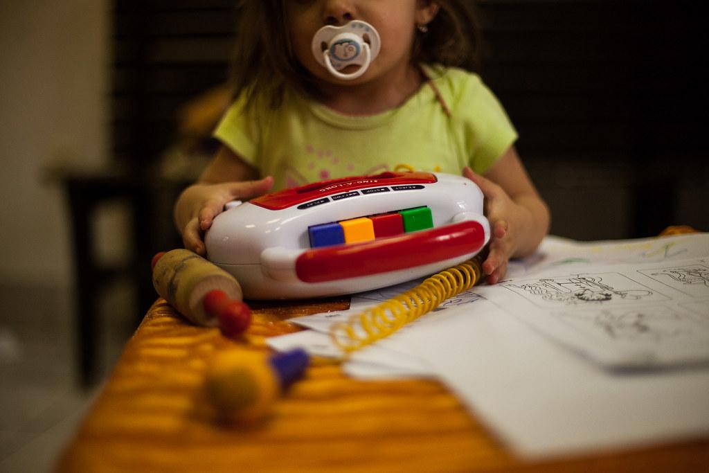 Kislány a játszószobában | Fotó: Magócsi Márton