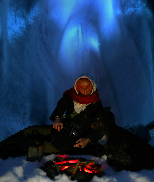 campfire ice cave