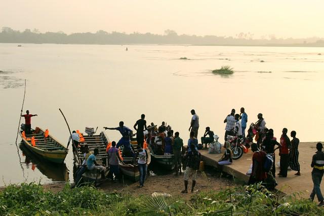 Hogbetsotso Festival canoes