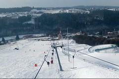 Hlubočky - změsta na lyže ina bobovou dráhu