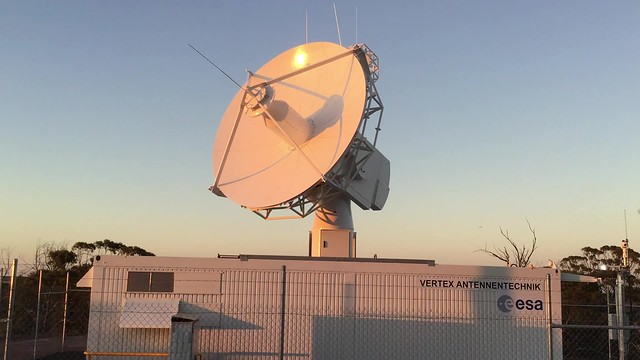 Antenna inauguration Australia