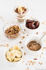 Greek Yogurt Banoffee Parfait - Παρφέ Για�…