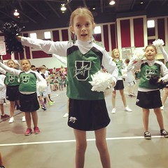 Go Upward! Good job cheering, Reegan!