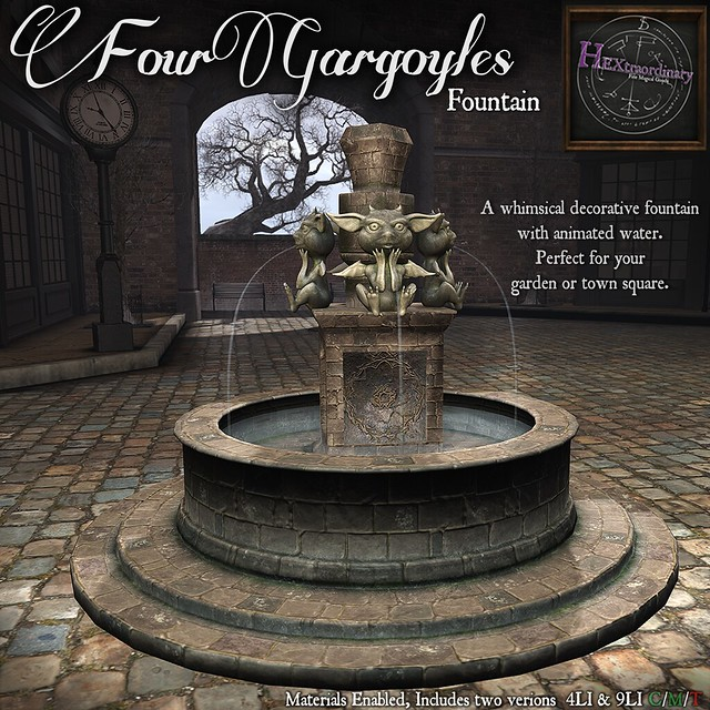 Four Gargoyles Fountain