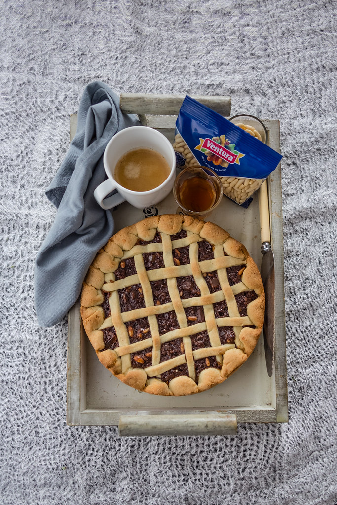 Torta coi bischeri - Pilgrim cake