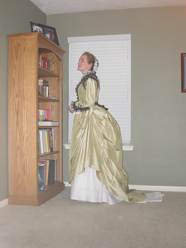 Early 1870s Le Baiser Dress - Side
