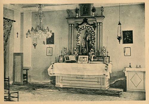 Hervideros de Fuensanta: altar de la capilla