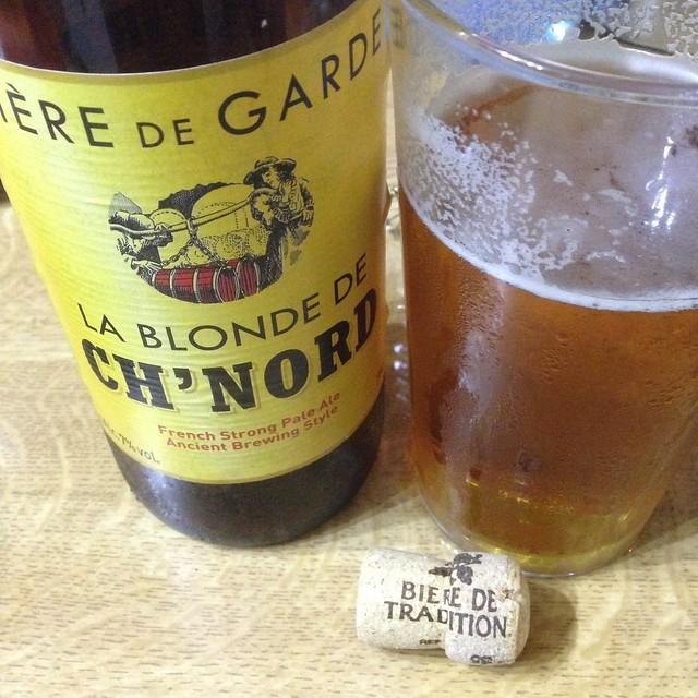 Biére de Garde - La Blonde de Ch'Nord