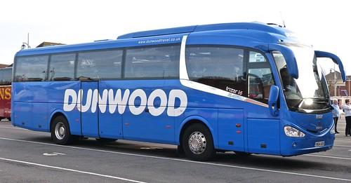 YN64 AOK 'Dunwood Travel' Scania 360EB4 / Irizar i6.