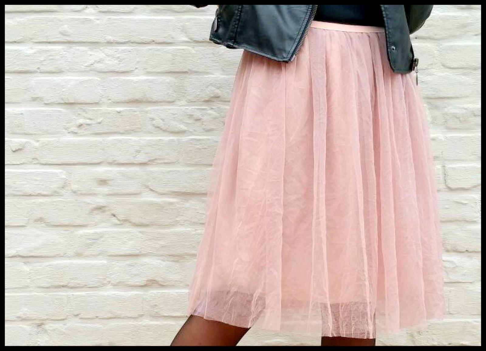 tule/chiffon skirt
