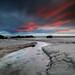 Arnside Morecambe Bay by angus clyne