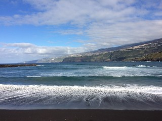 Image of  Playa Martiánez. seaside holidays tenerife puertodelacruz hfholidays hf walkingholidays