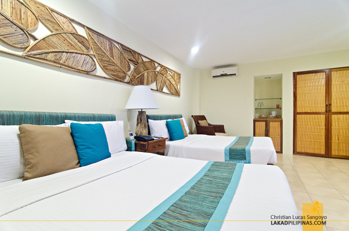Bluewater Maribago Beach Resort Cebu Deluxe Room