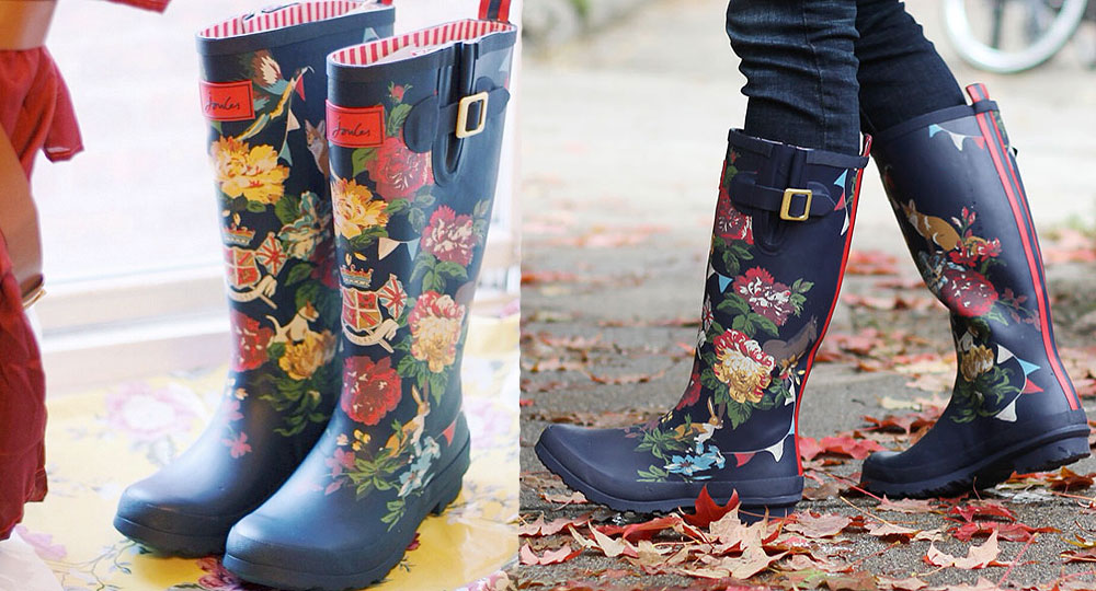 Joules Wellies Rainboots Review - Beauty V Brains