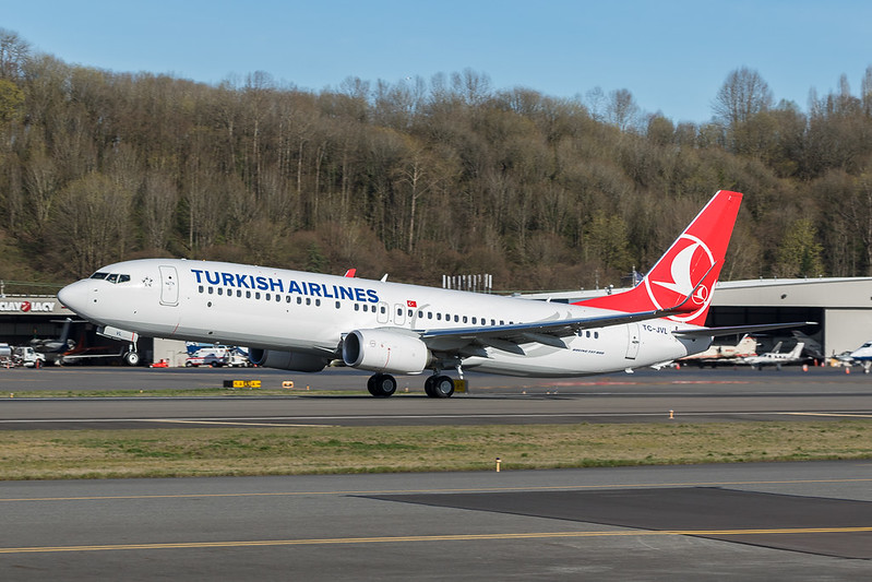 737-800 TC-JVL Turkish Airlines 2016-3-17 3