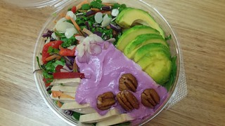 Rainbow Salad from Charlie's Raw Squeeze