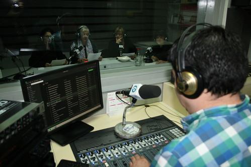 Celebració del Dia Mundial de la Poesia a Ràdio la Llagosta