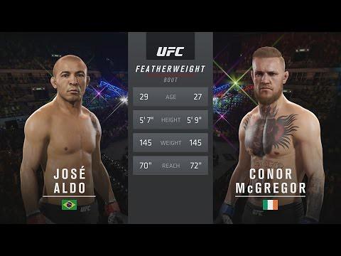 Watch EA SPORTS UFC 2 - UFC 194: José Aldo vs. Conor McGregor Gameplay [1080p HD] HIGH-DEFINITION