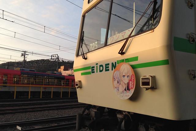 2016/03 叡山電車×NEW GAME! ラッピング車両 #71