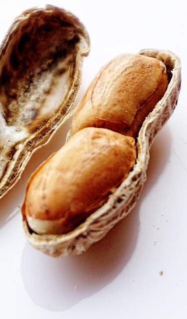 No man in the world has more courage than the man who can stop after eating one peanut. ~Channing Pollock