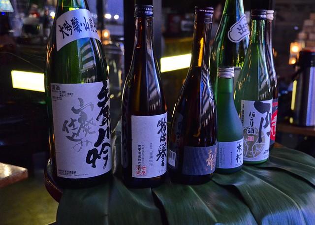 jinya sake bottles
