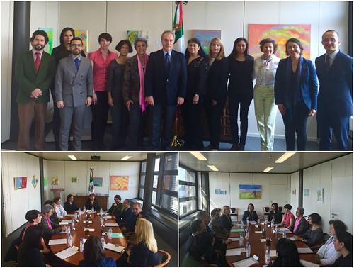 IV Reunión Anual de Coordinación entre la Embajada de México y las Asociaciones de Mexicanos