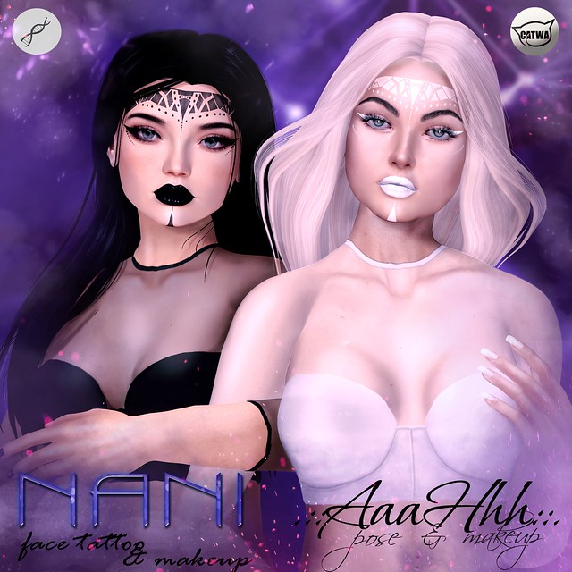 .::AaaHhh::. makeup&face tattoo NANI -50%
