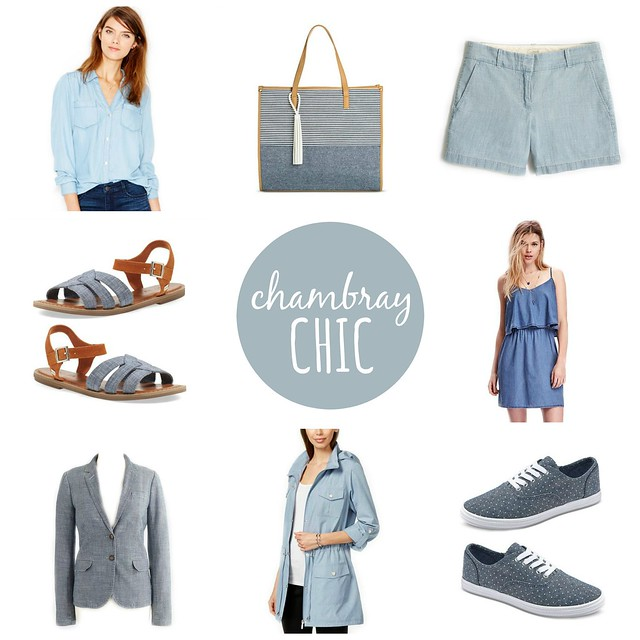 on trend chambray chic | Style On Target