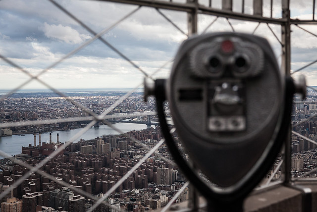 Binoculars at the Empire State