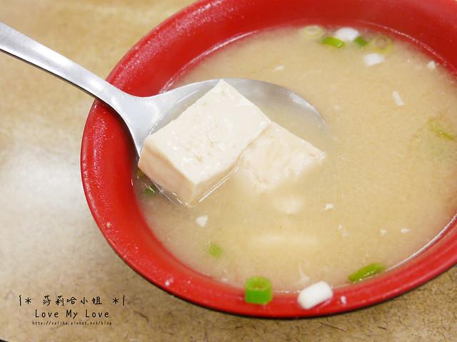 台北西門町美食餐廳推薦美觀園生魚片飯 (12)