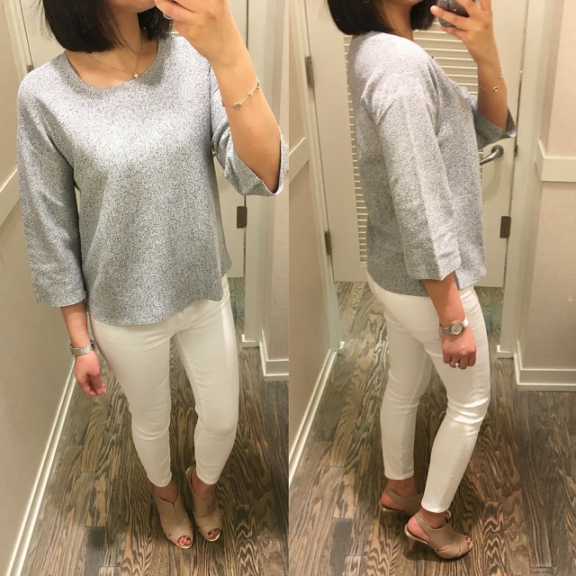LOFT Speckled Kimono Sweater