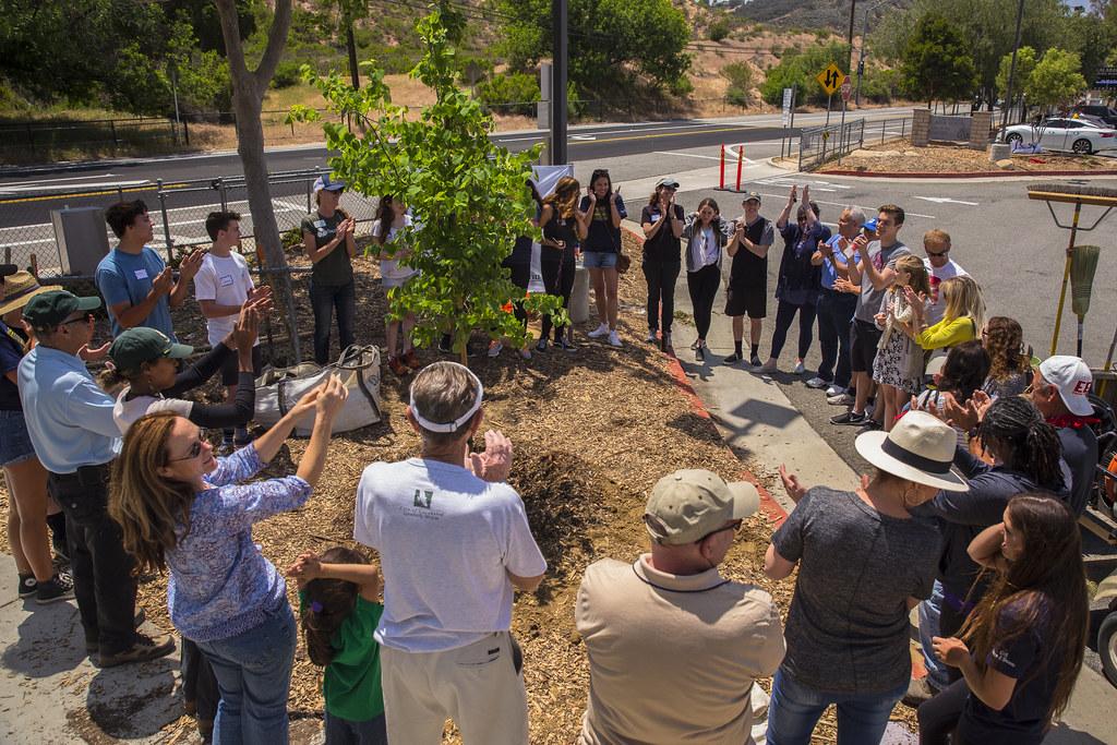 Calabasas HS Arbor Day Celebration - 4/30/16