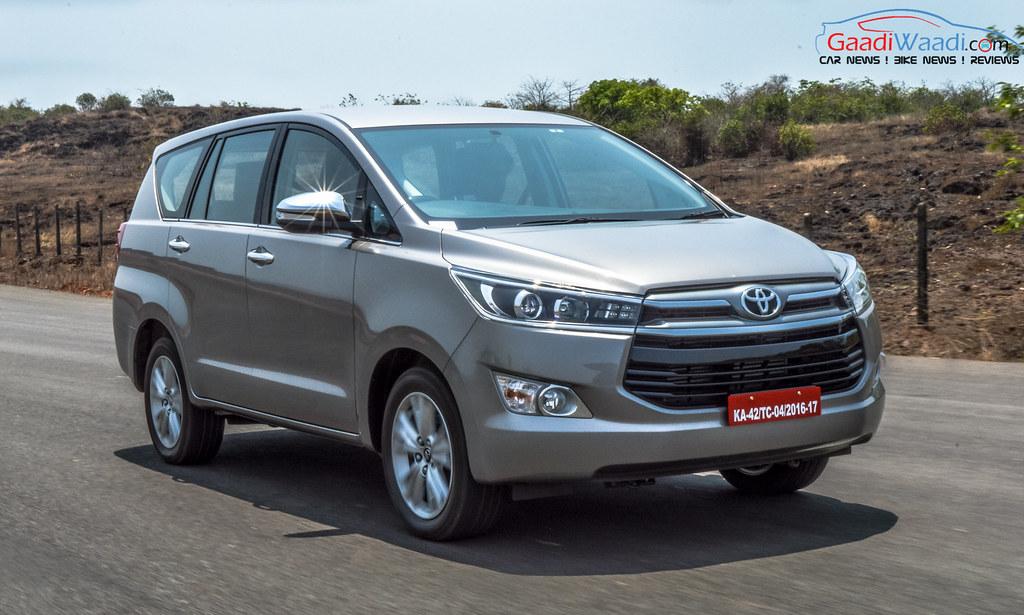 Toyota Innova Crysta tracking