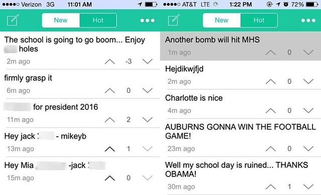 Bullying Yik Yak Worksheets for all | Download and Share ...