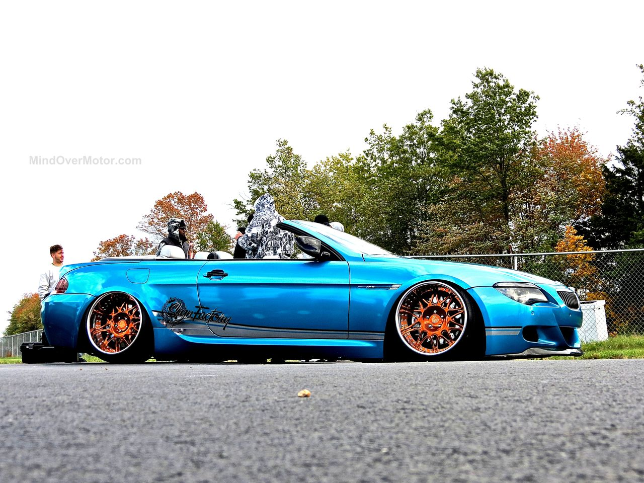 Slammed BMW M6 First Class Fitment 5