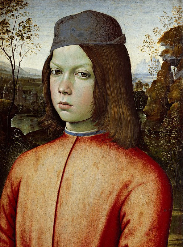Pinturicchio - Portait of a Boy