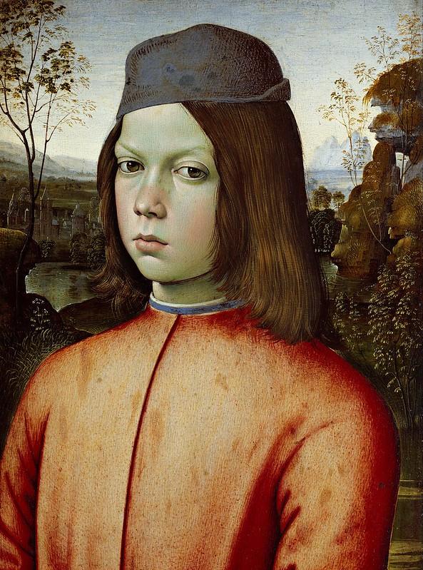 Pinturicchio - Portait of a Boy