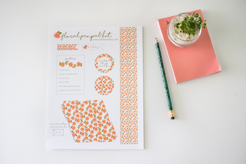 penpal kit printable