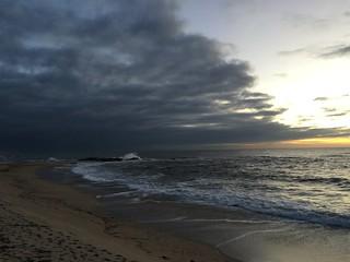 Praia de Marbelo görüntü. portugal nova de vila porto gaia norte madalena canidelo