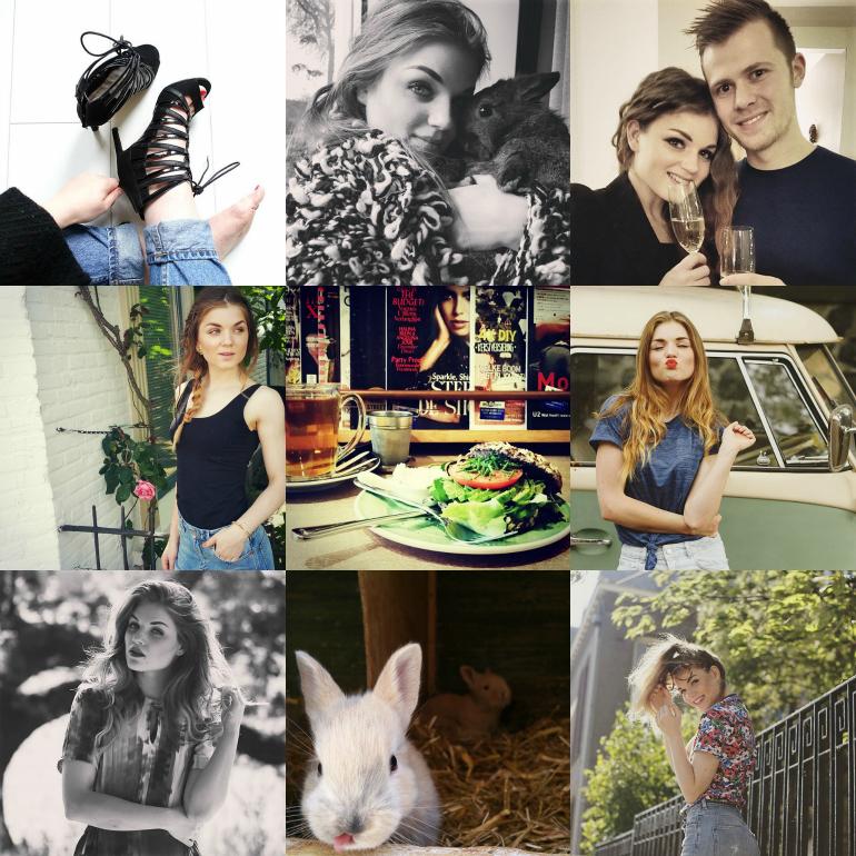 Instagram in 2015, instagram tag, baby konijntjes, kleine konijntjes, instagram filters, meest gelikete foto's op instagram, meest gebruikte hashtags, huisdieren op instagram, eten op instagram, bullboxer schoenen, selfie, bagels & beans, winactie, happy new year